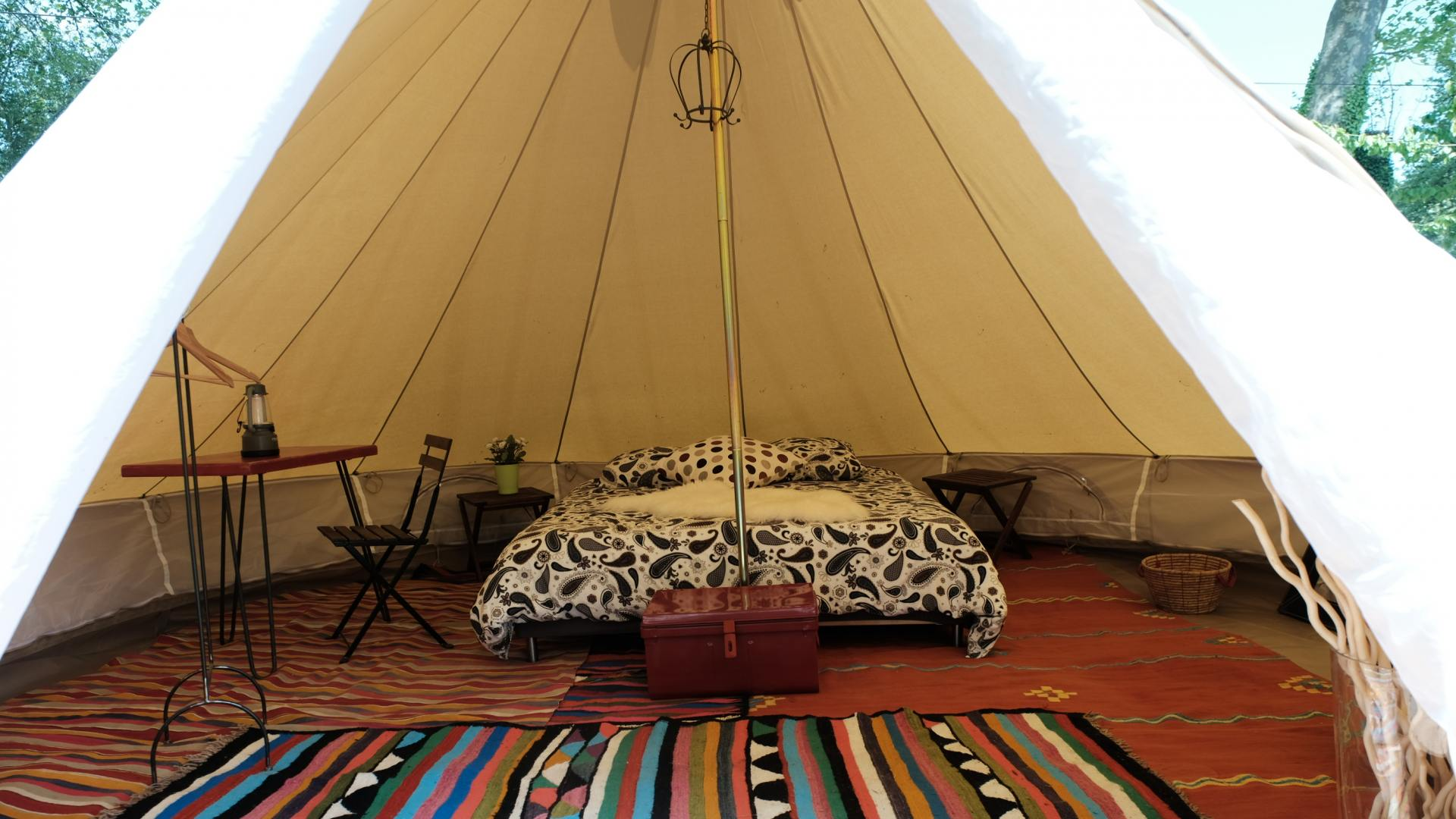 Luxe safari Tents